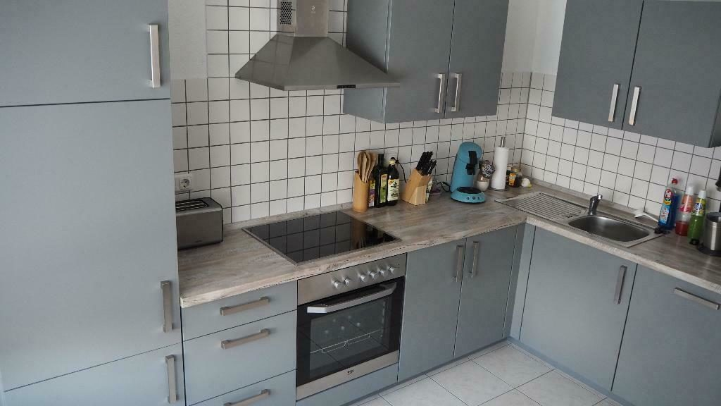 Nobilia Küche (L-Form) inkl. Einbaugeräten der Marke Beko ...